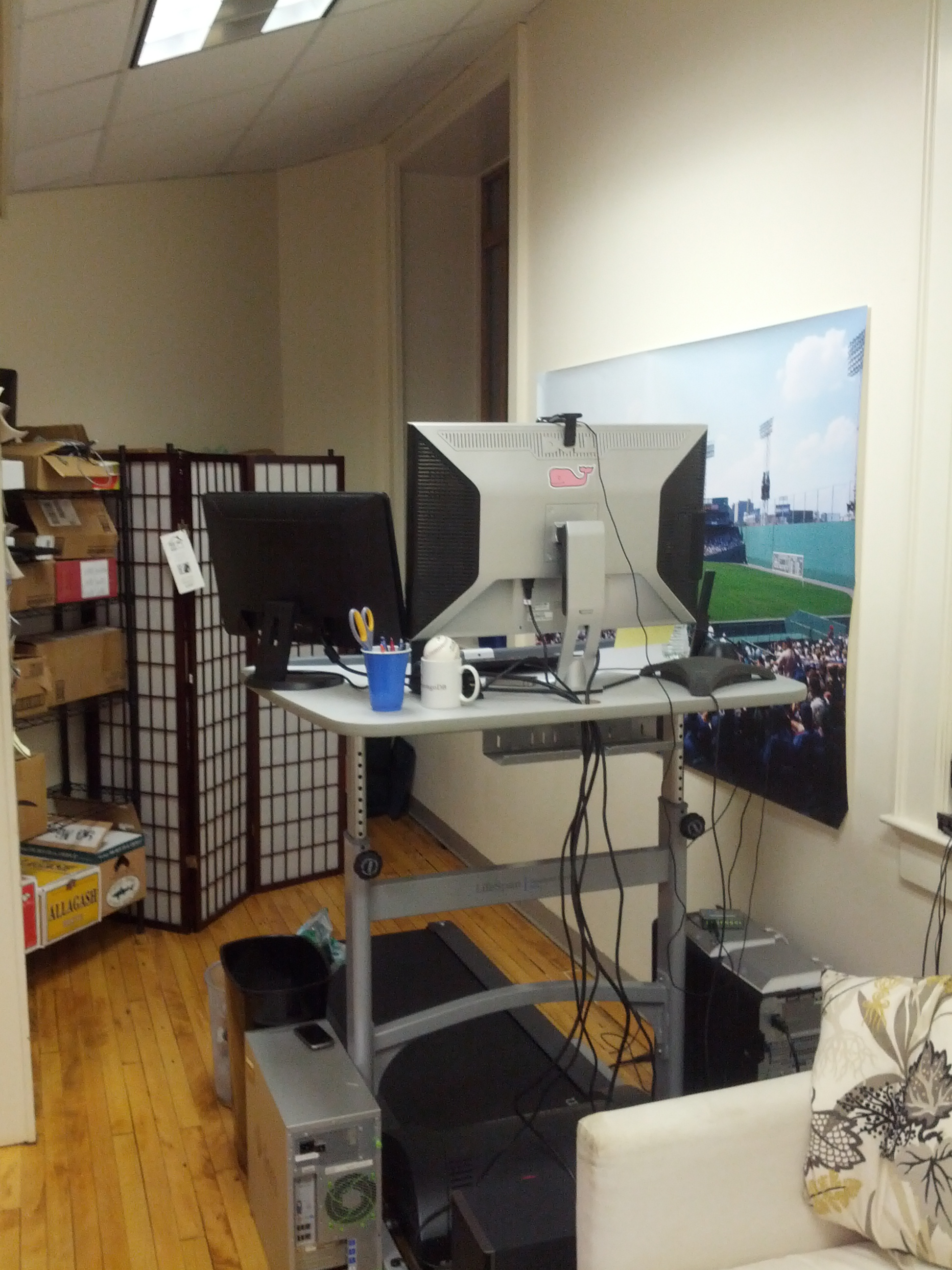 reviews treadmill gray canada lifespan includes standing desk